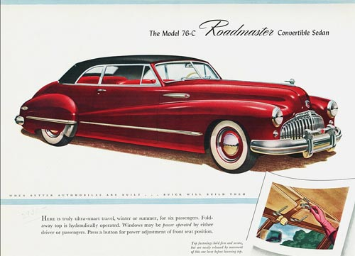 1946 Buick Roadmaster convertible.