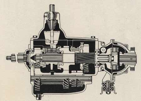 Cutaway view of the torque ball from '37 Buick Shop Manual.