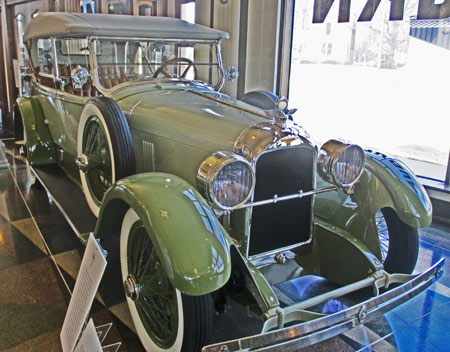 1923 Duesenberg Sport Touring Car equipped with the famous 'Straight 8' 260 cubic-inch engine producing 88 horsepower. It is estimated that only 241 were built.