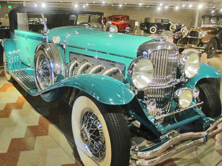 Stunning example of a 1930 Duesenberg Model J restored by C.W. 'Bill' Bocock with a 265 hp straight eight engine. The final example of Murphy Convertible Sedan built by Murphy Company for Duesenberg chassis.