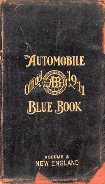 1911 American Blue Book New England Edition.