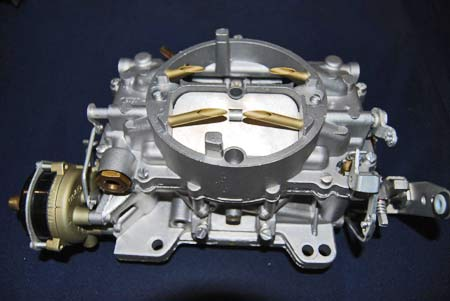 A good source of restored Holley, Rochester and Carter carburetors for GM cars is Chicago Corvette Supply, which did this beautiful carburetor restoration. Visit carburetors@chicagocorvette.net for more information.
