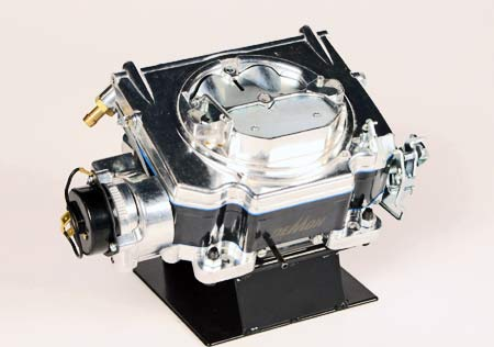 Holley's Demon and Street Demon carburetors are popular with today's performance car builders. Many enthusiasts like theway that shiny finish looks on an engine. This is the company's 625 cfm model.