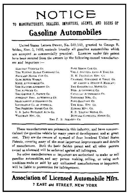 Association of Licensed Automobile Manufacturers ad