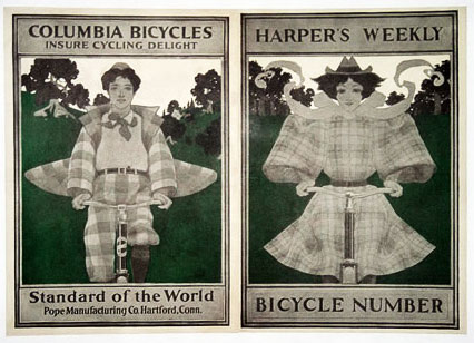 Columbia Bicycle Ads