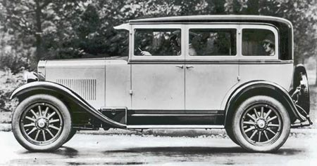 1927 Erskin Model 50 Regal 4 Door Sedan