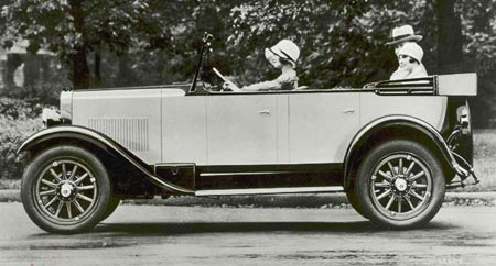 1927 Erskine Model 50 Touring Car