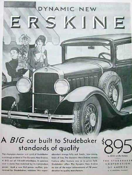 Ad for Dynamic New Erskine
