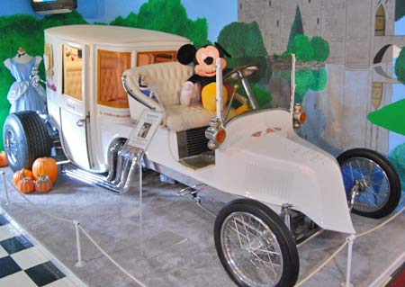 Though the Volo Auto Museum (www.volocars.com) put Mickey in the driver's seat of this hot rod, you'll want to keep mice out of your classic car.