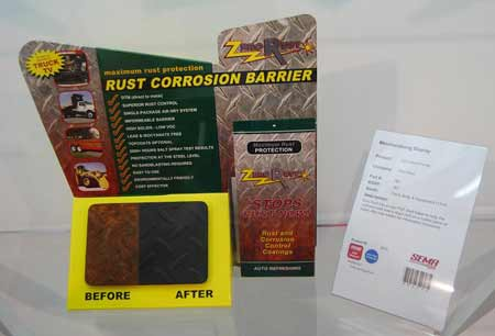 Before you can do a good touch up you have to use a rust preventative product that will prevent corrosion from reoccurring under new paint.