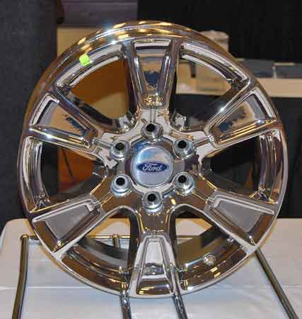 Ford motor Co. uses the Winona PVD Coatings branch to do thousands of longer-lasting OEM wheels for current-model Ford Mustangs and F-150 pickups.