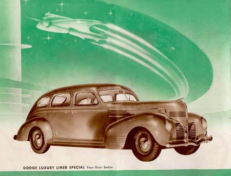 1939 Dodge Luxury Liner Ad