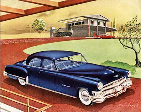 Artwork for 1951 Chrysler Imperial ad