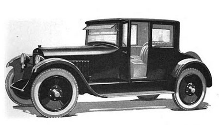 Wills St. Claire 1922 coupe.