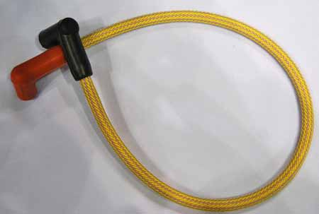 We ran across Wire Care when we were looking for a way to dress up spark plug wires on an old 1950s engine. This yellow braided sleeving was pretty close to what we wanted, but we wanted an exact match at that time.