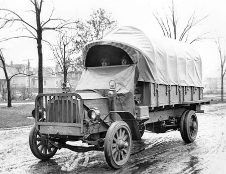 Packard-built truck.