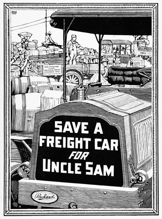 Save a freight car for Uncle Sam.