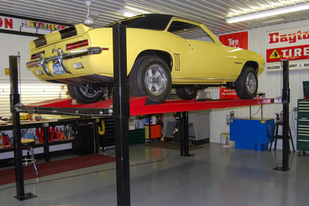 This 1969 Camaro Rally Sport Z/28 hardtop has Canadian documentation. It sits in Larry's immaculate home shop in Iola, Wis., nearing the end of a two-plus-years factory stock restoration. The wheels and tires are for restoration only.