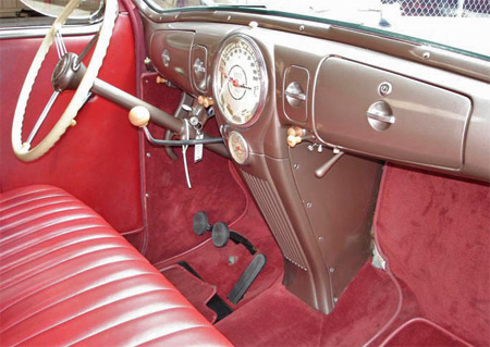 streamline design is evident in the zephyrs dash floor to dash consoles are nothing new