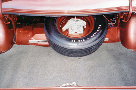 Check for partial VIN under the trunk weatherstrip rubber.