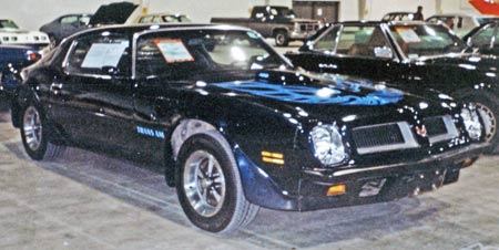 By 1974, Pontiac Trans Ams were available in new colors including Admiralty Blue.