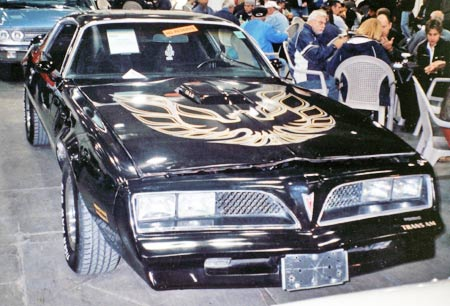 The 1977-78 Trans Ams look alike except for small details.