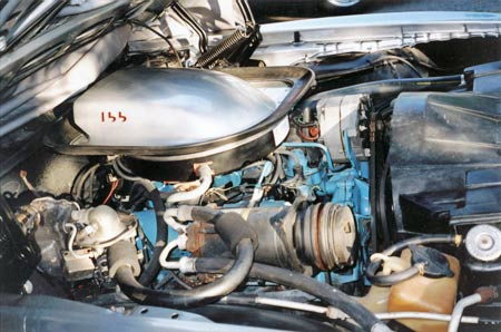 The 455 is the most favored engine followed by the W72 400.