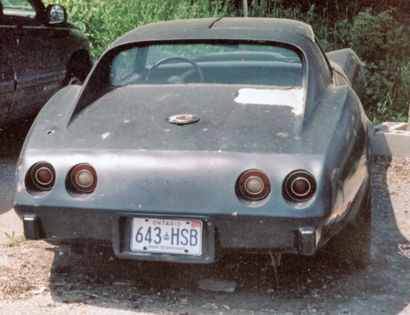 Avoid cars like this '76 that was stored outside for decades. Repair. The frame could be rusted out and fiberglass repair isn't cheap.