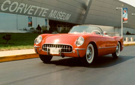 Here's another shot of the car while Ingle owned it outside the National Corvette Museum in Bowling Green. Photo courtesy National Corvette Museum.