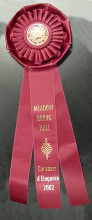 It took a red ribbon at Meadow Brook Hall and it has garnered numerous other awards since its restoration back to its 1953 form has been completed. Photo courtesy of Kerbeck Chevrolet.