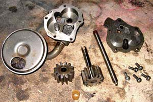 Disassembly of Corvette 454 oil pump is simple