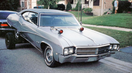 69 Buick Skylark's engine will be used in a '69 Skylark convertible restoration