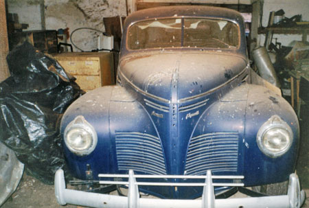 This 1940 Plymouth coupe was discovered while searching for Trans Am parts. It's an excellent barn find inline six ideal for street rodding. Keep all your options open.