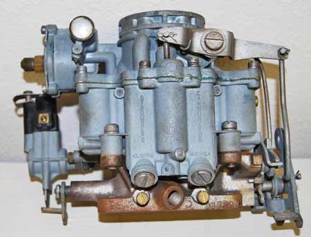 Properly adjusting the mixture and idle speed screws on this vintage Stromberg carburetor will prevent an over-rich mixture and control fuel flow.