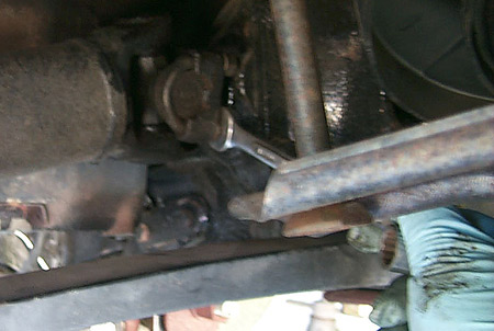 Replacing Corvette Half-Shaft U-Joint