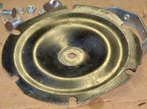 The diaphragm after careful cleaning.