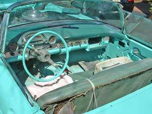 1955 T-Bird Project car