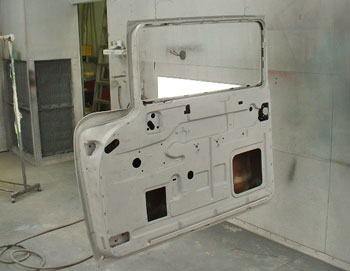 The doors are in exceptional condition and will not need any rust repairs.
