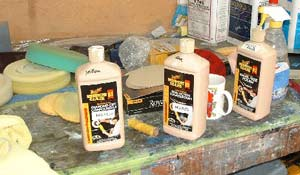 Meguiars Buffing Kit.