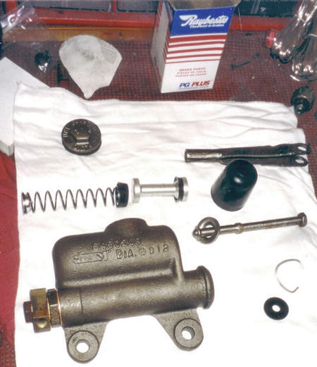 Classic Car Master Cylinder Overhaul