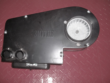 The Smith's heater after a cost effective restoration.