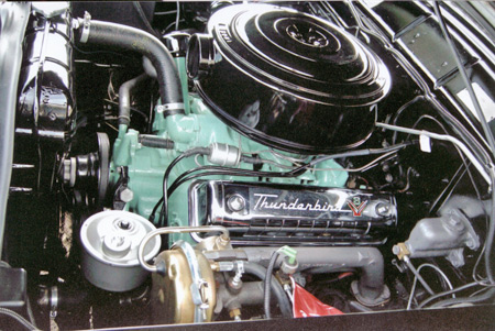 Skyliners relied on the Ford Y-block V8 ranging from 272 to 352 cubic inches.