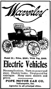 1903 Waverley Electric Ad