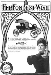 1906 Waverley Electric Ad