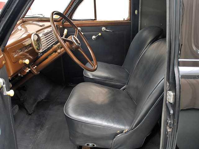 55 Sedan Delivery Factory Interior Autos Post