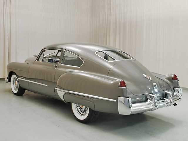 1948 cadillac series 61 drivers side rear view