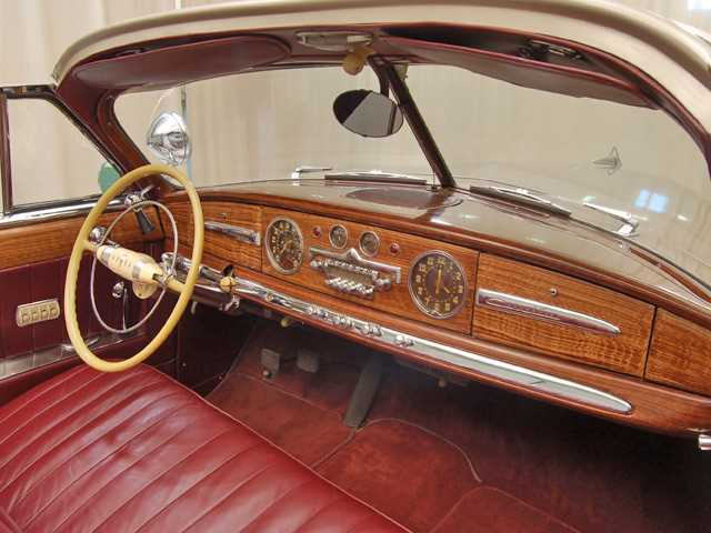 1949 Hudson Commodore 6 Convertible
