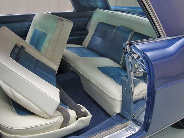1956 lincoln mark ii interior