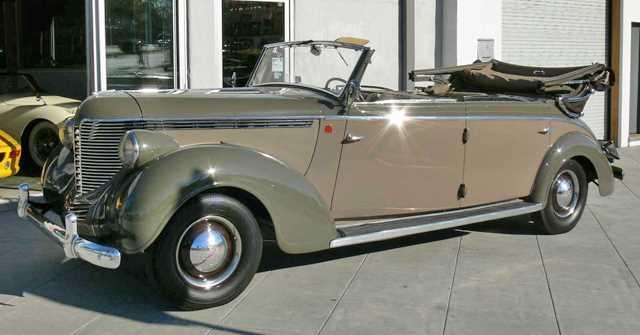 1938 DeSoto S5 Drophead Limo