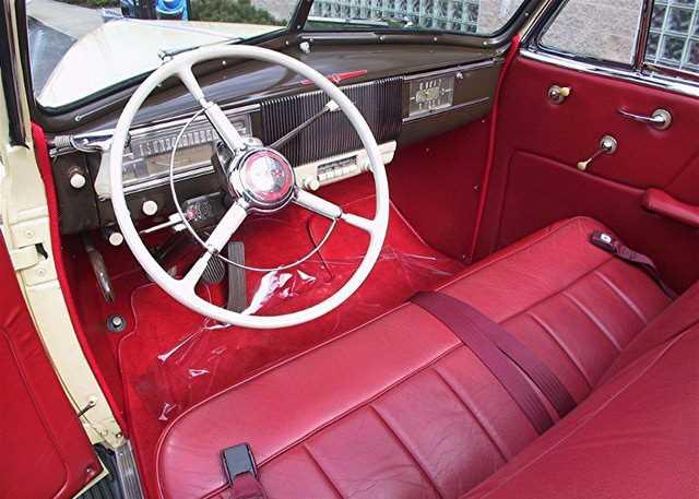 1940 Oldsmobile F Series 60 Convertible
